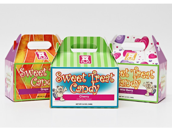 Custom Printed Gable Top Candy Boxes